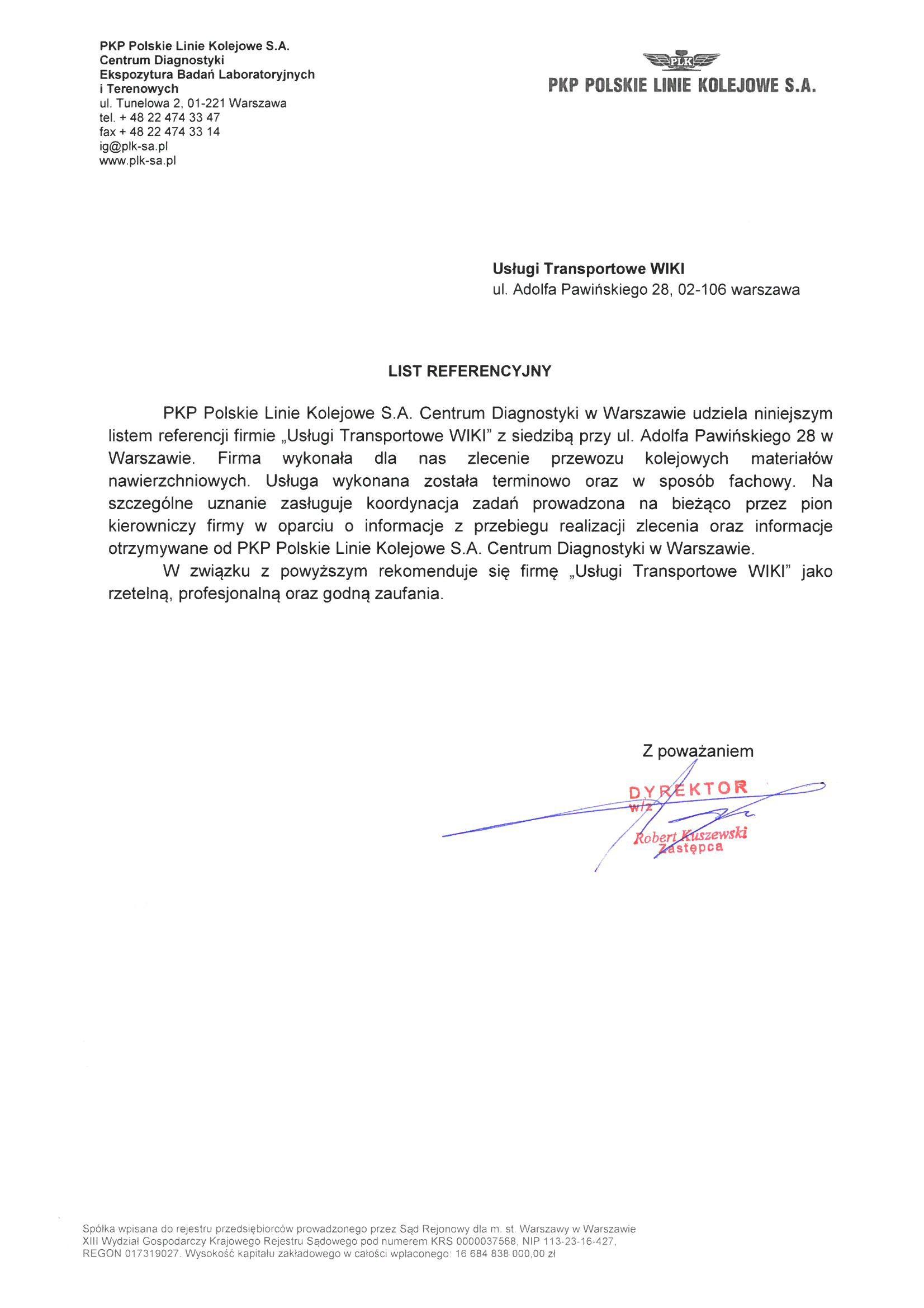 Referencje-PKP